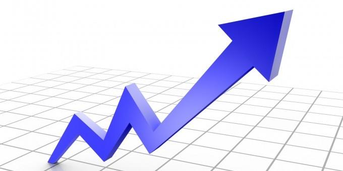 Hausse des prix immobiliers sur un an glissant